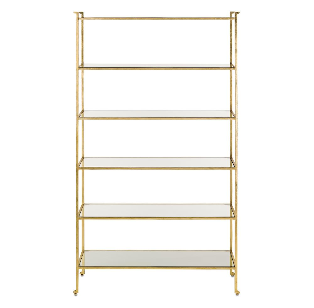 classic hollywood regency gold leaf etagere display bookcase. Black Bedroom Furniture Sets. Home Design Ideas