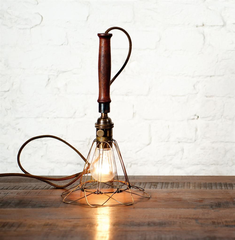 Finley vintage industrial cage wire shade pendant lamp kathy kuo home greentooth Gallery