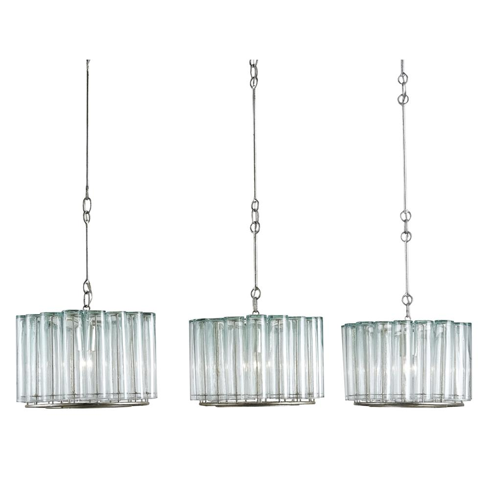 Industrial loft modern bud vase round adjustable trio for Modern island pendant lighting