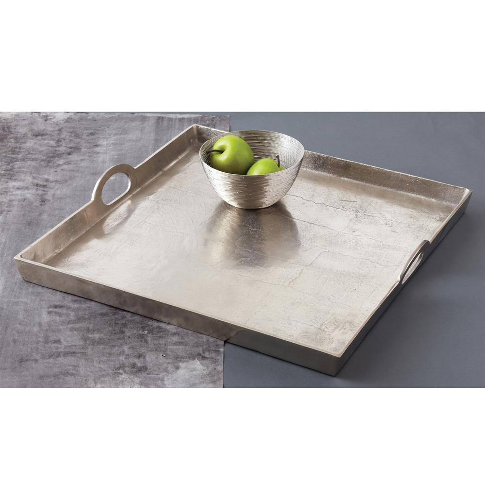 Morton Square Mixed Silver Metal Contemporary Serving Tray  : product55551 from www.kathykuohome.com size 1000 x 1022 jpeg 76kB