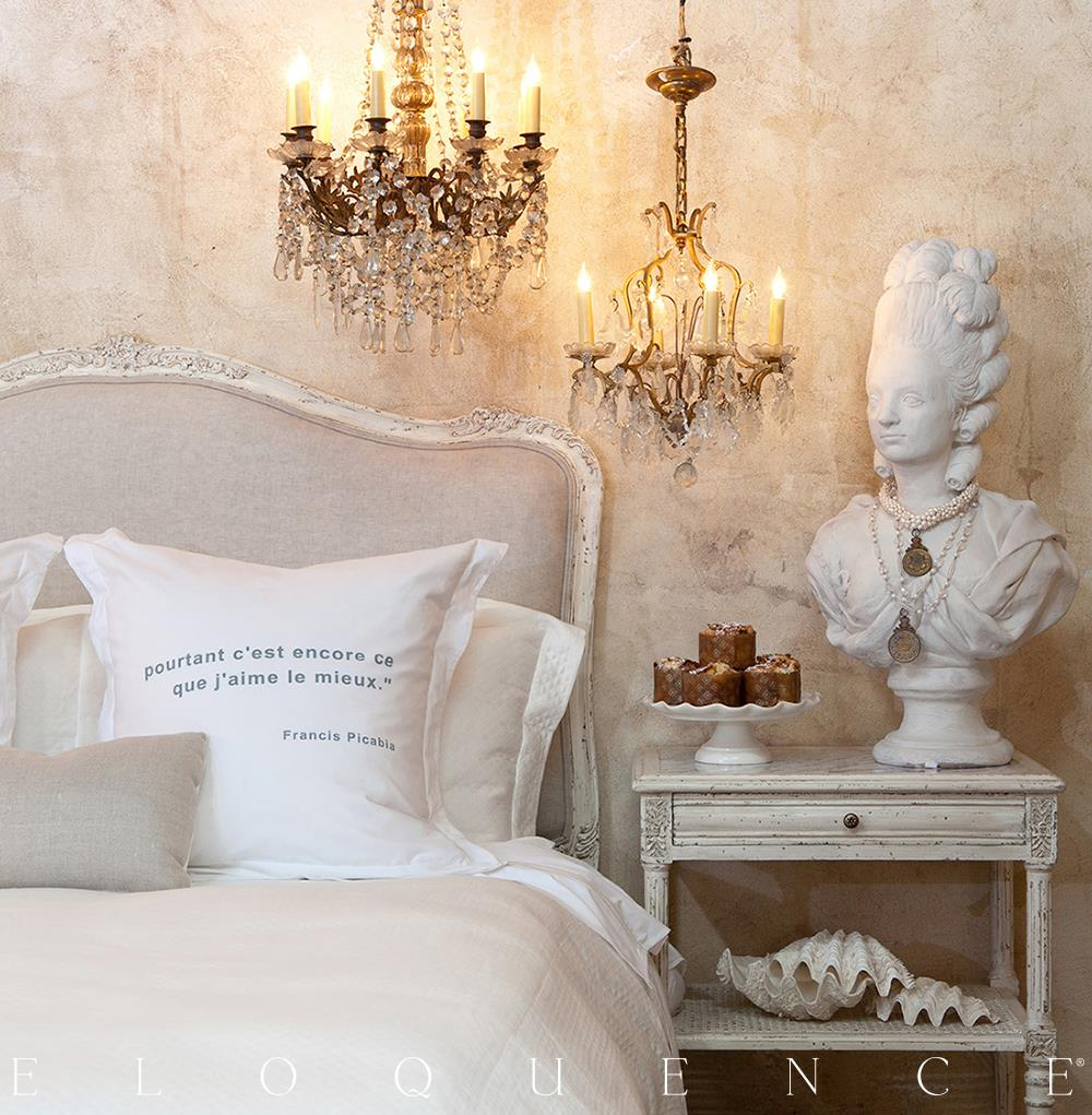 eloquence sophia queen headboard in antique white kathy kuo home