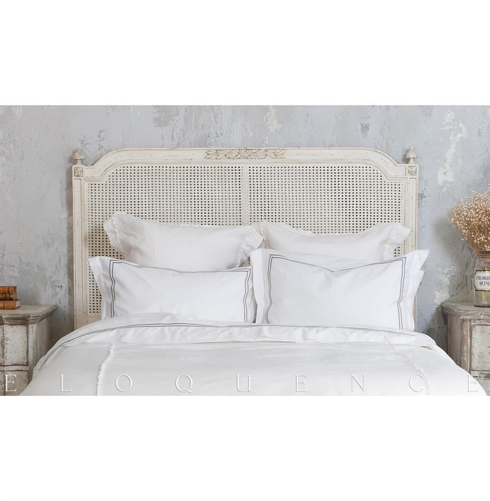 Eloquence 174 Blanka Cane King Headboard In Antique White