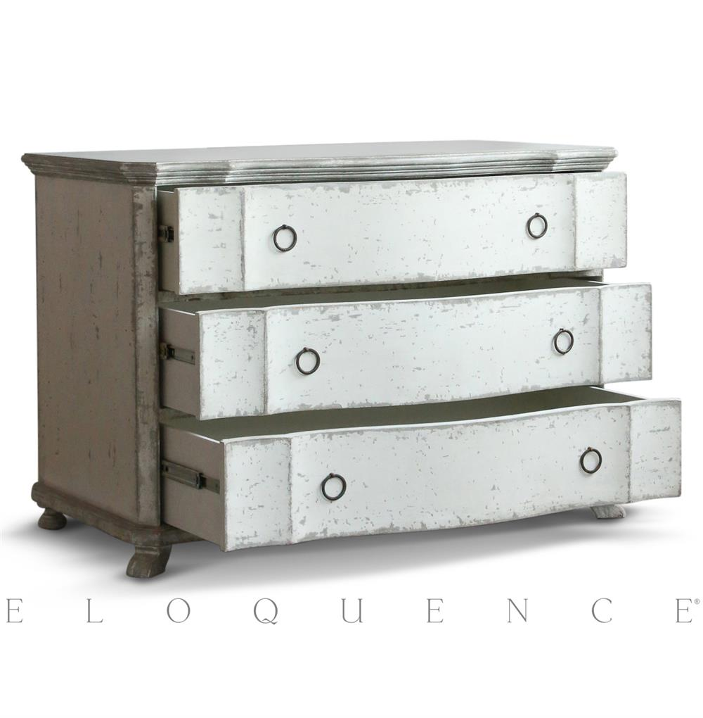 eloquence grande bordeaux commode in stone kathy kuo home. Black Bedroom Furniture Sets. Home Design Ideas