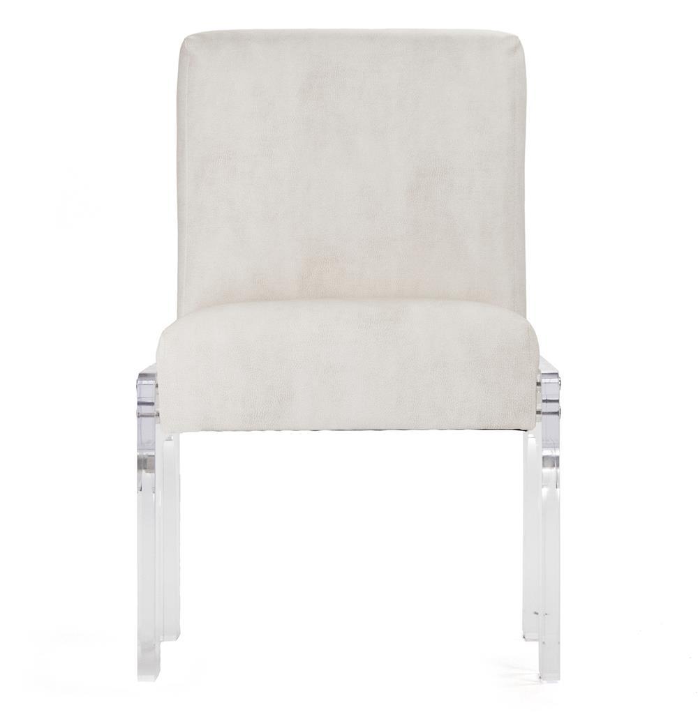 Global Views Acrylic Chair: Aniston Modern Art Deco Acrylic Dining Chair