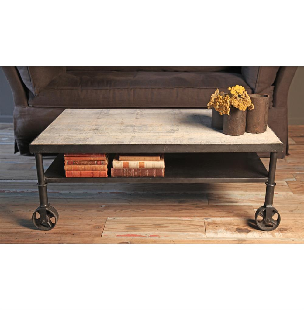 Belker industrial loft reclaimed wood iron casters cart coffee belker industrial loft reclaimed wood iron casters cart coffee table kathy kuo home view full size geotapseo Choice Image