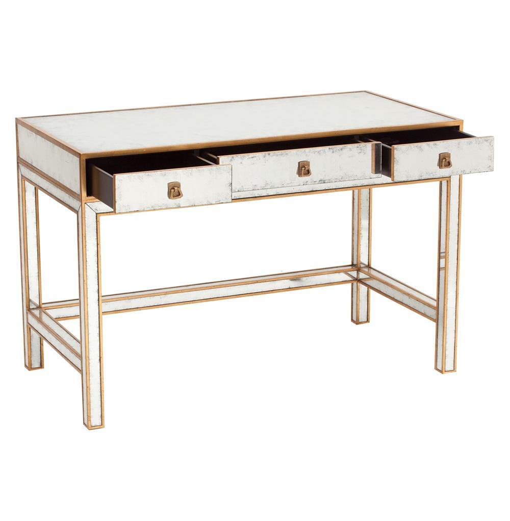 3 drawer writing desk