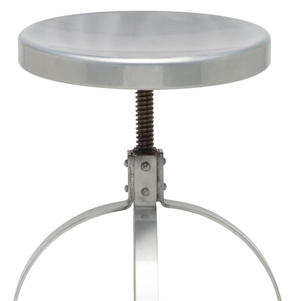 Adam Industrial Loft Outdoor Safe Steel Adjustable Swivel