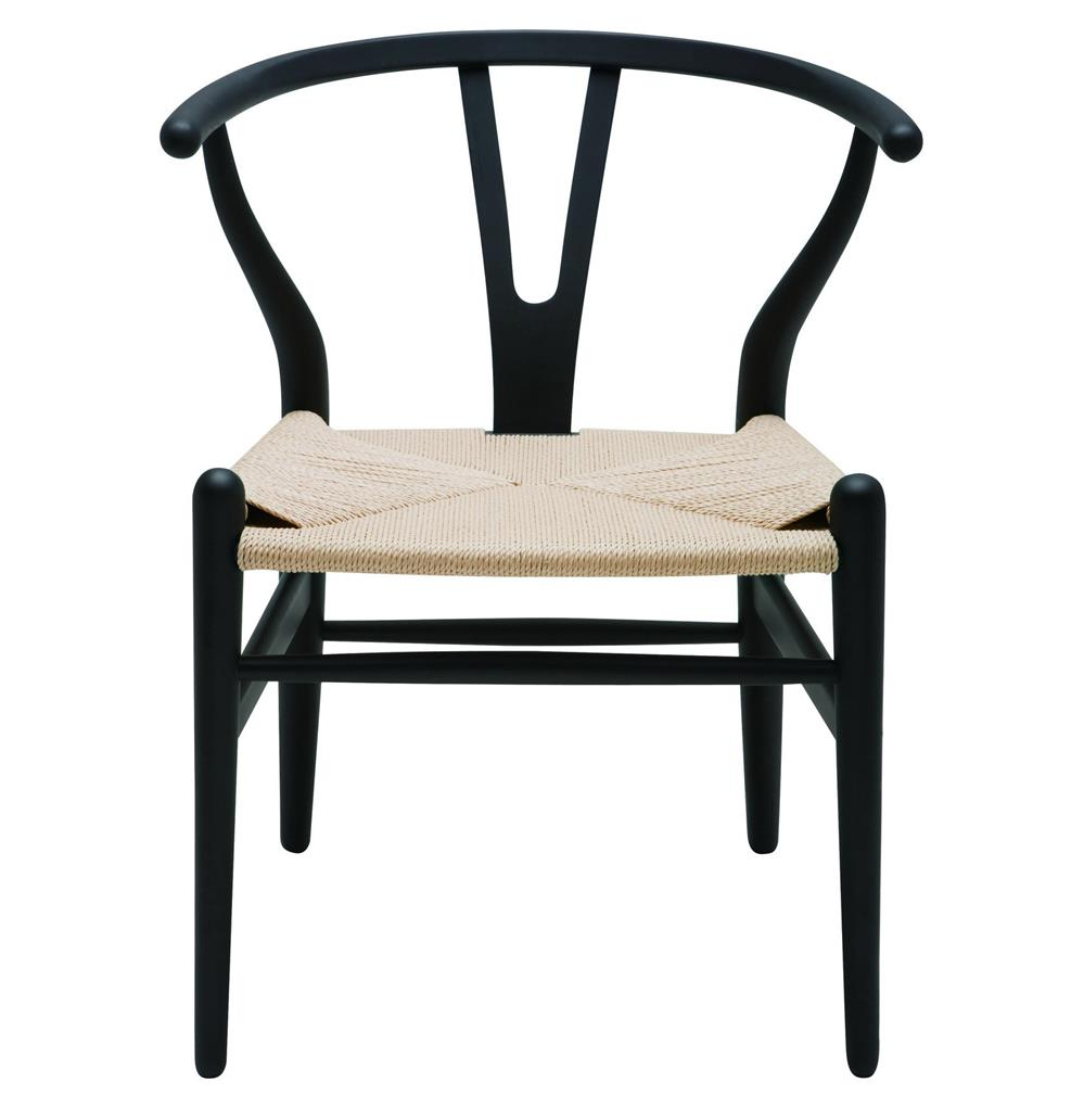 modern global bazaar rattan black dining arm chair kathy kuo home