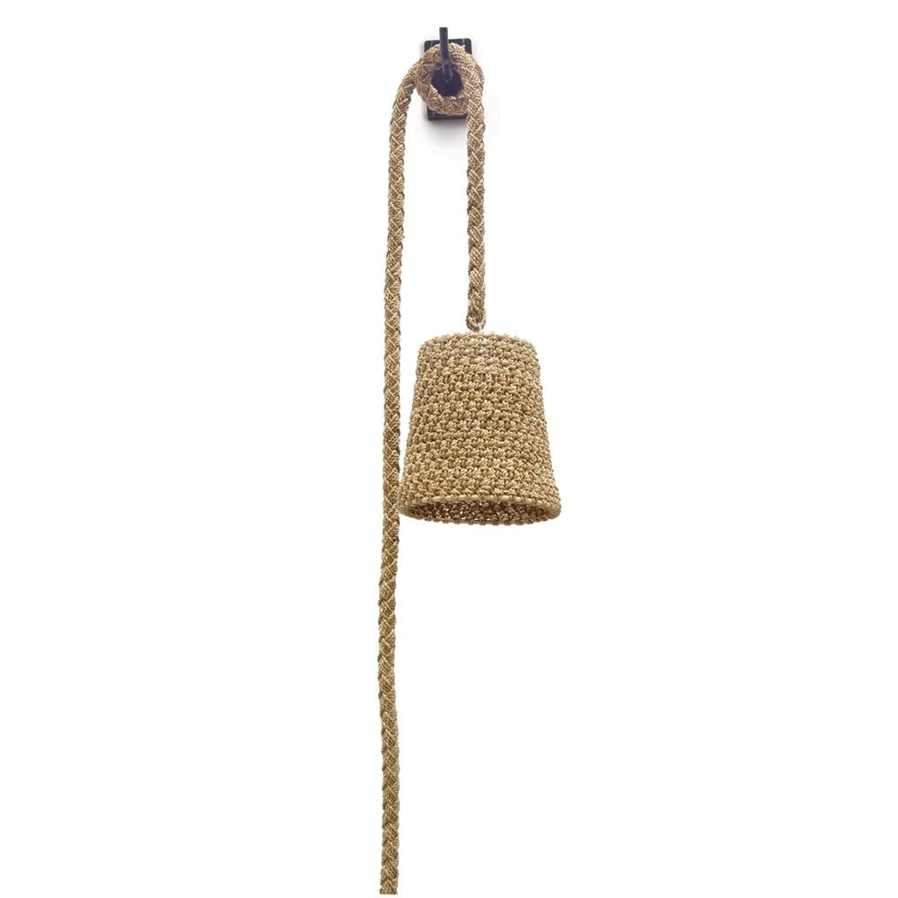 Palecek Green Oaks Nautical Rope Hanging Wall Pendant