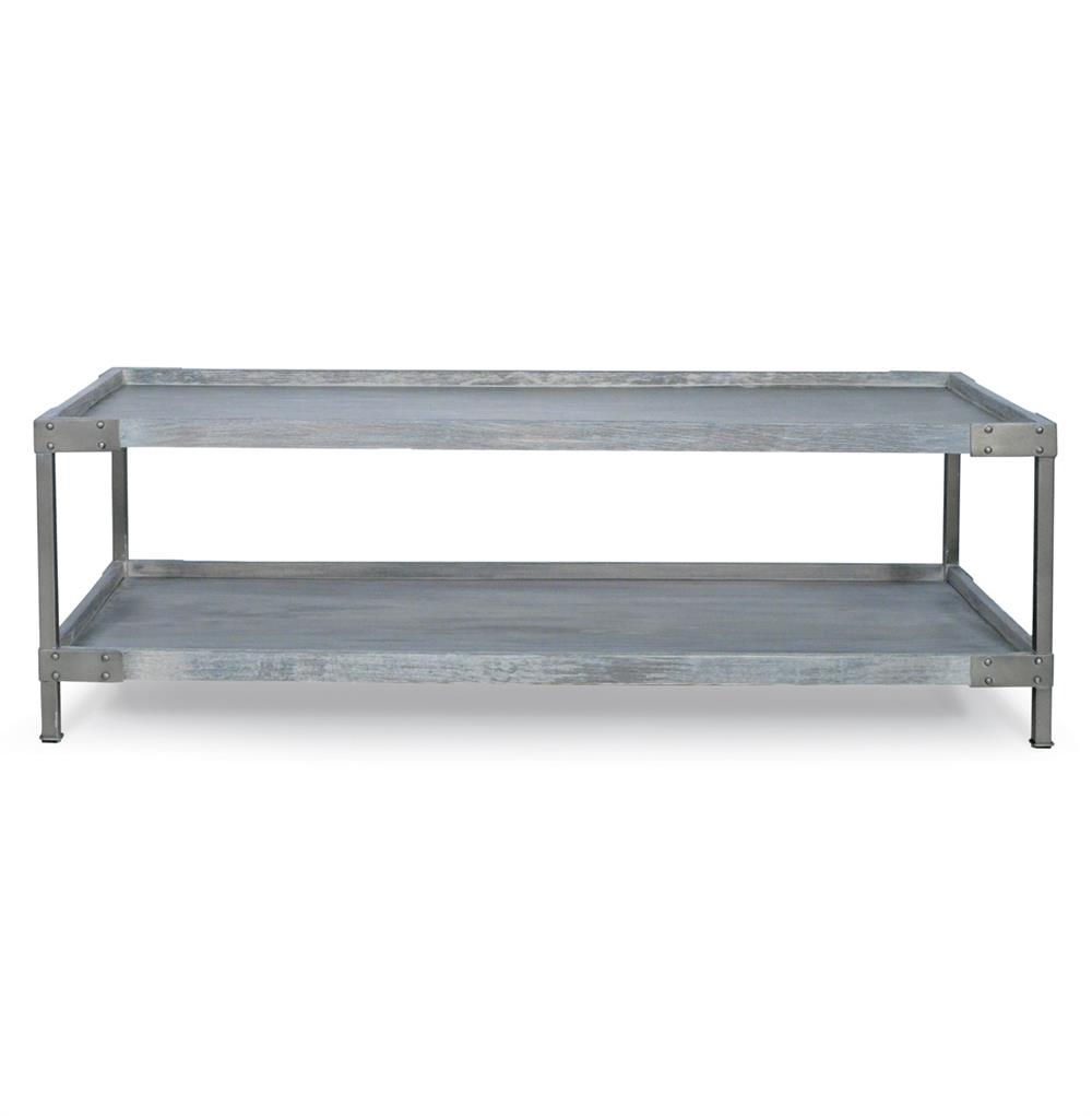 Industrial Wood Coffee Table Distressed Designs