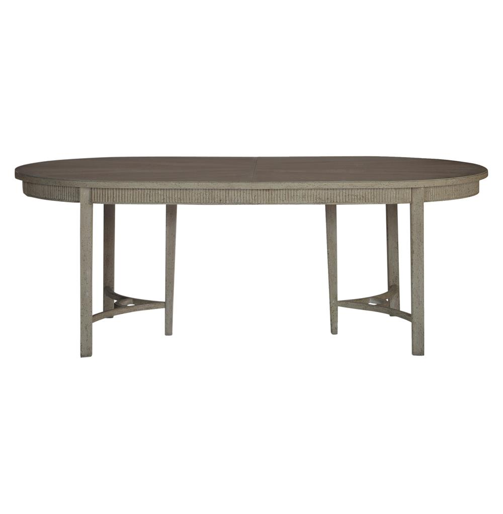 Whitlock French Country 1 Leaf Extendable Oak Dining Table Kathy Kuo Home