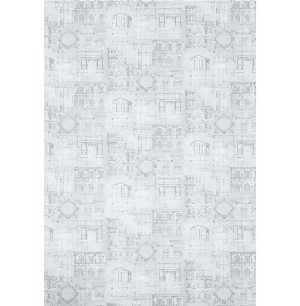 Roman Greek Architecture Blueprint Wallpaper Storm Rolls