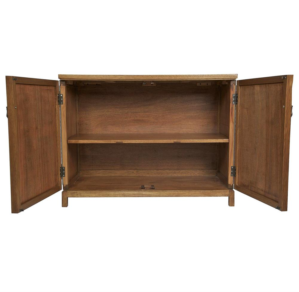 Birger industrial loft wood linen sideboard kathy kuo home for Sideboard loft