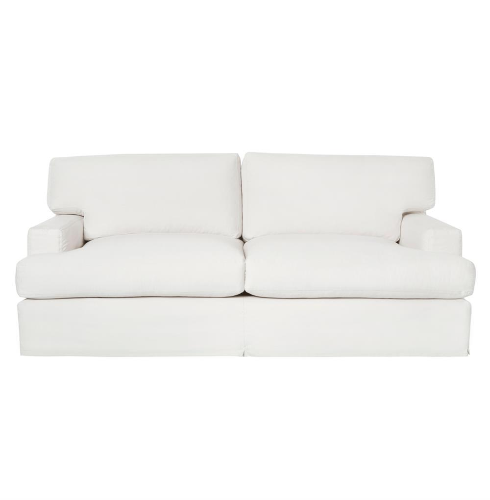 Cisco brothers cordova modern classic coastal slipcover for Sofa 84 inch