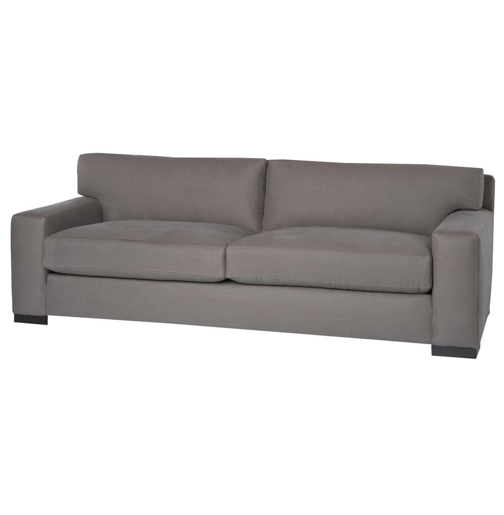 Cisco brothers loft masculine modern classic grey steel for Sofa modern classic