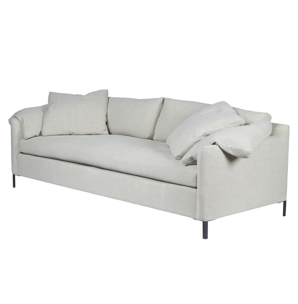 Cisco brothers radley modern classic feather down silver for 90 inch couch