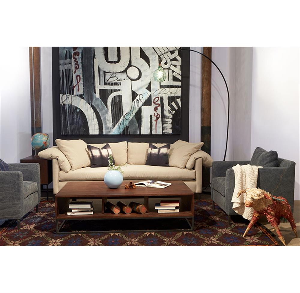 Feather Down Sofa Luccia Hollywood Regency Feather Down
