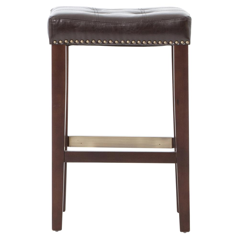 Milton Espresso Brown Leather Tufted Counter Stool Kathy  : product94163 from www.kathykuohome.com size 999 x 999 jpeg 47kB