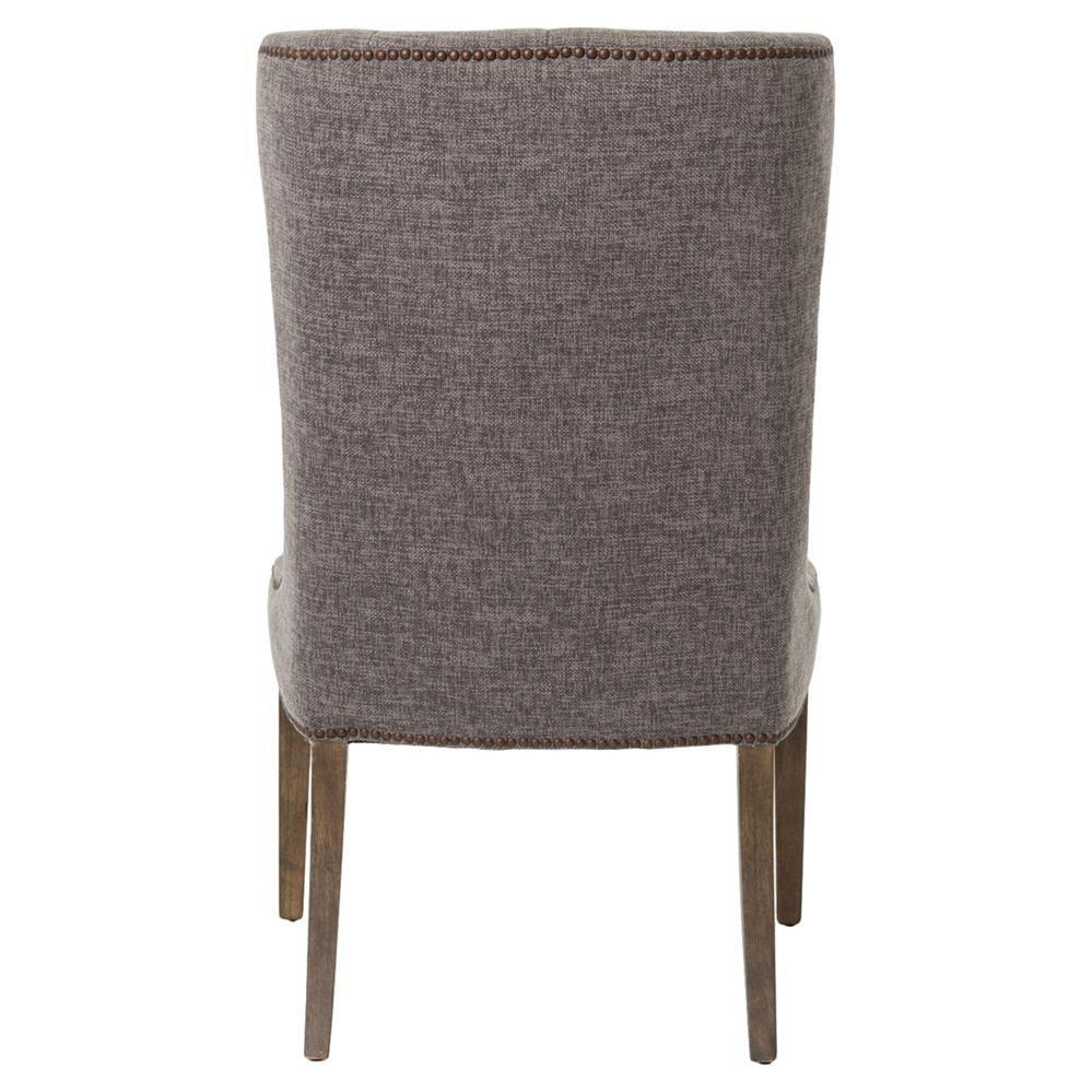 Luis French Charcoal Button Tufted Side Chair Kathy Kuo Home : product95603 from www.kathykuohome.com size 999 x 999 jpeg 96kB