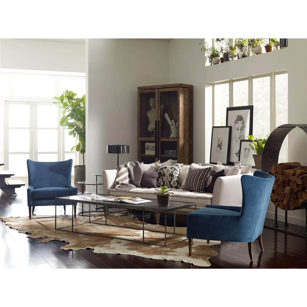 Country Living Room Furniture Couches: Dedon French Country Coastal Style Light Sand Sofa