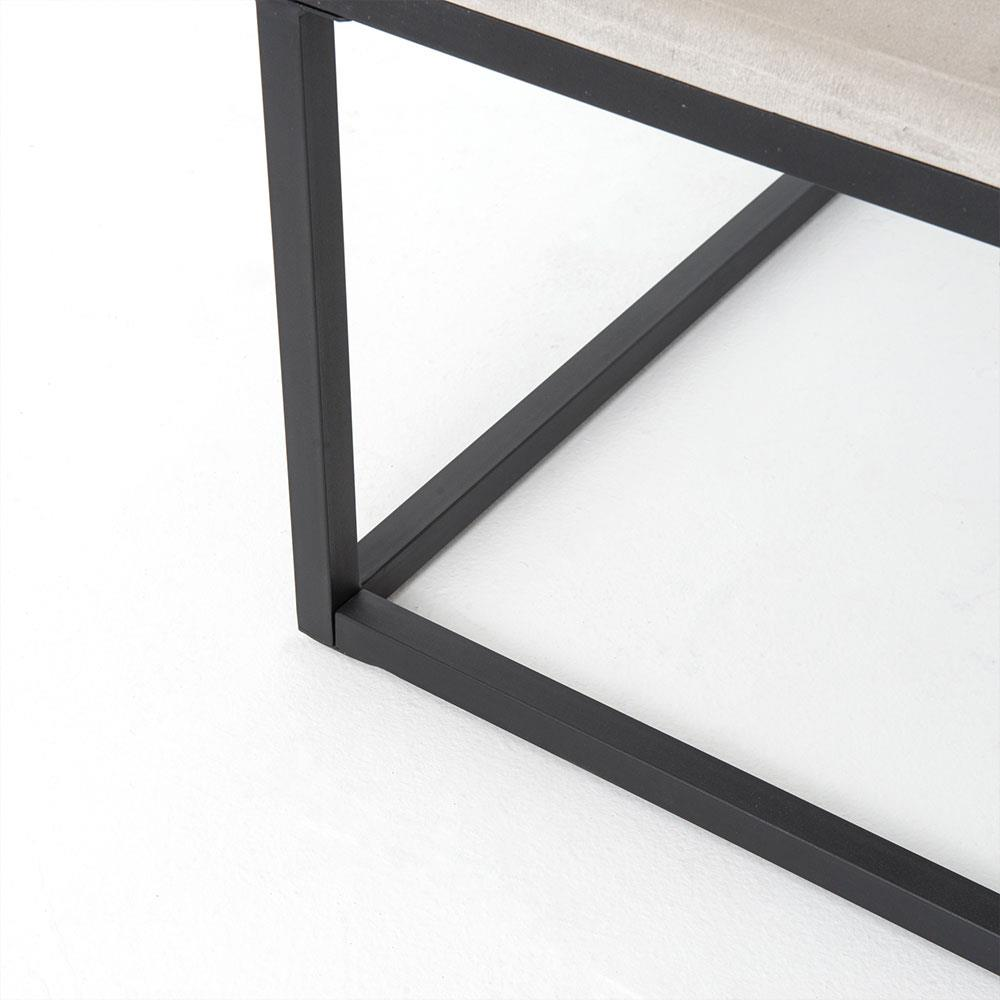 Small Coffee Tables For Home: Daedulus Industrial Modern Concrete Simple Small Coffee Table