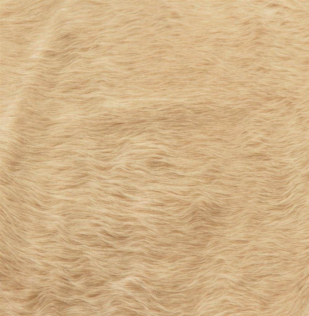 Cream Beige Ivory Brazilian Hair On Hide Rug