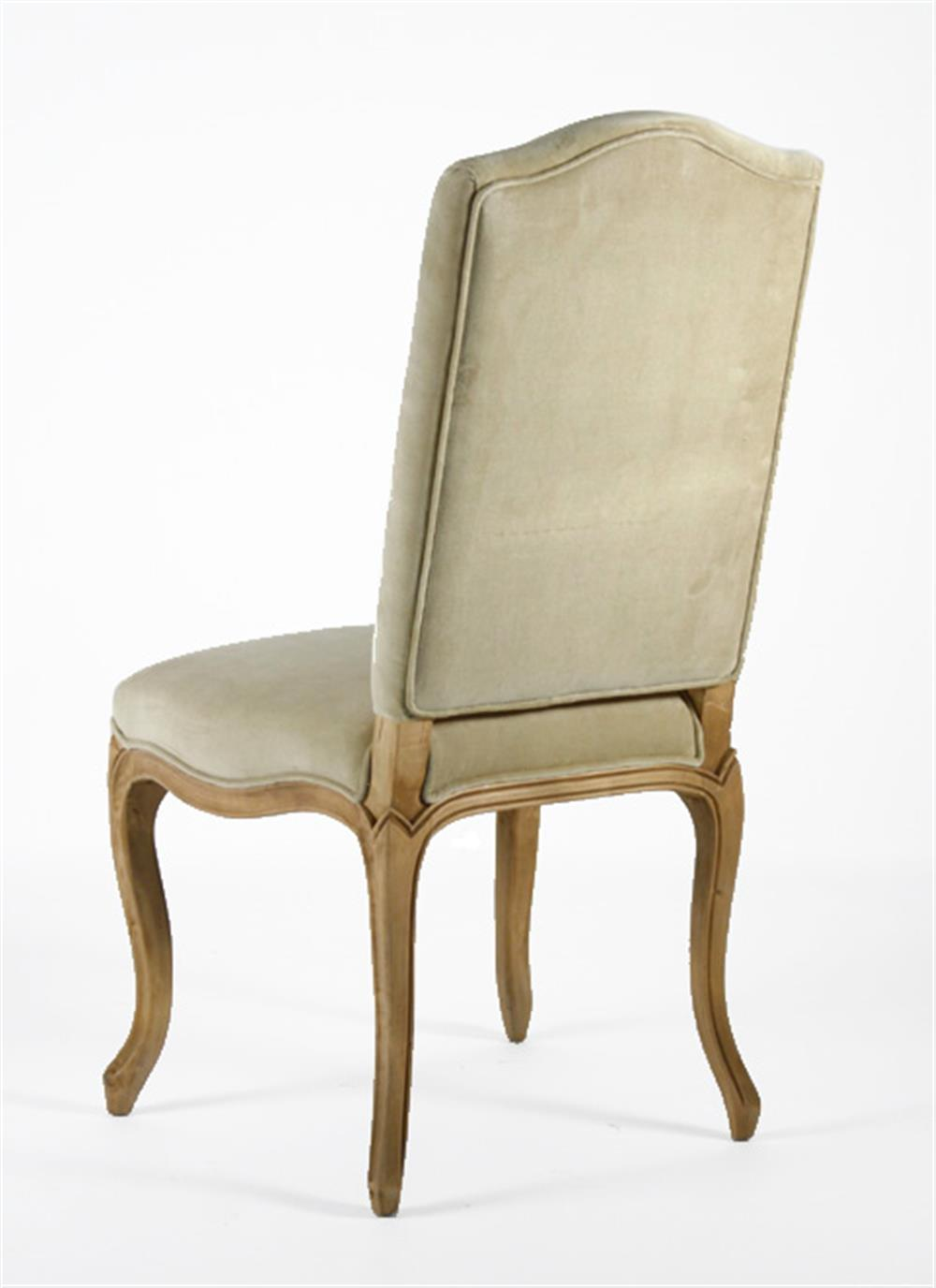 light gold taupe velvet country style cathy dining
