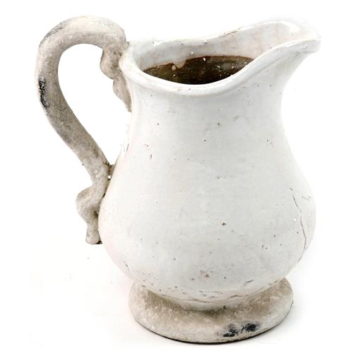French Country Stoneware Pitcher- Large | Kathy Kuo Home