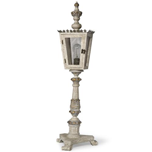 rudolph french country gold carved wood lantern table lamp kathy kuo home. Black Bedroom Furniture Sets. Home Design Ideas
