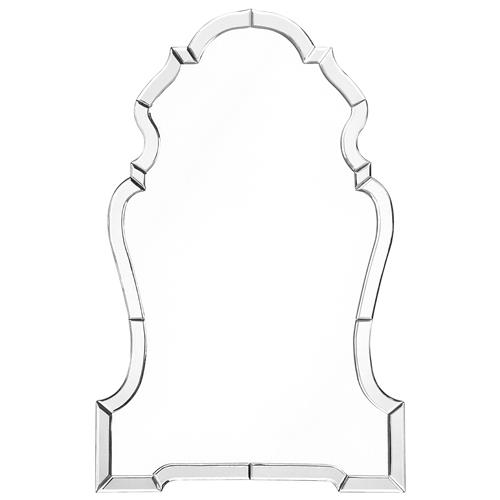 Marilyn Hollywood Regency Beveled Arch Frame Chippendale Mirror | Kathy Kuo Home