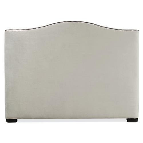 Tidal Modern Classic Upholstered Queen Headboard | Kathy Kuo Home