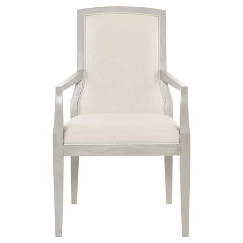 Gretta Grey Hollywood Regency Ivory Arm Chair | Kathy Kuo Home