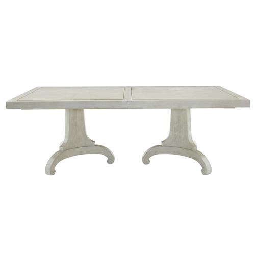Gretta Hollywood Regency Adjustable Steel Inlay Dining Table | Kathy Kuo Home
