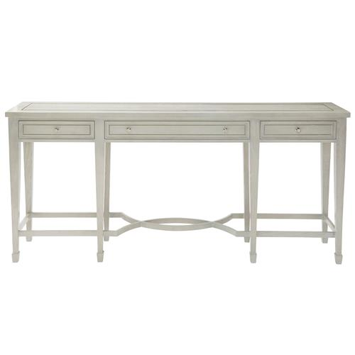 Gretta Grey Hollywood Regency Polished Inlay Console Table | Kathy Kuo Home