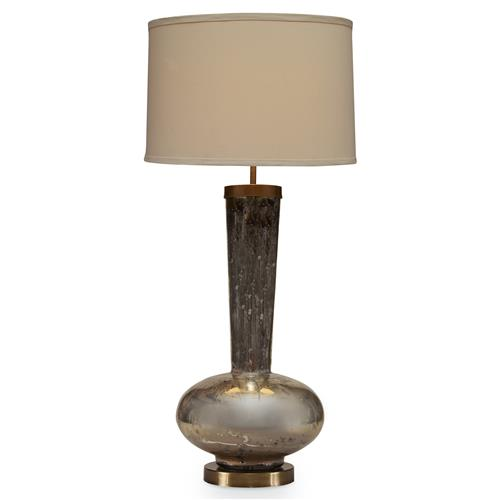 Mr. Brown Naomi Modern Gold Mercury Table Lamp | Kathy Kuo Home