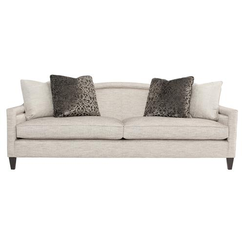Susan Modern Classic Heathered Arch Nailhead Sofa | Kathy Kuo Home