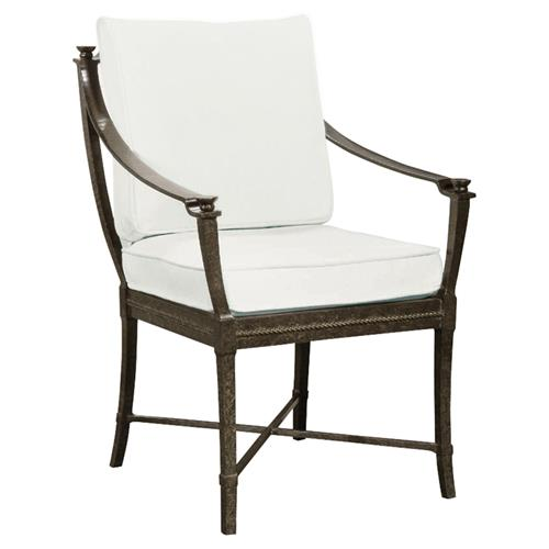 Jane Modern French Metal White Outdoor Dining Arm Chair  : product16449 from www.kathykuohome.com size 500 x 500 jpeg 17kB