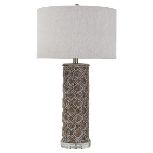 Sendak French Country Rustic Column Table Lamp