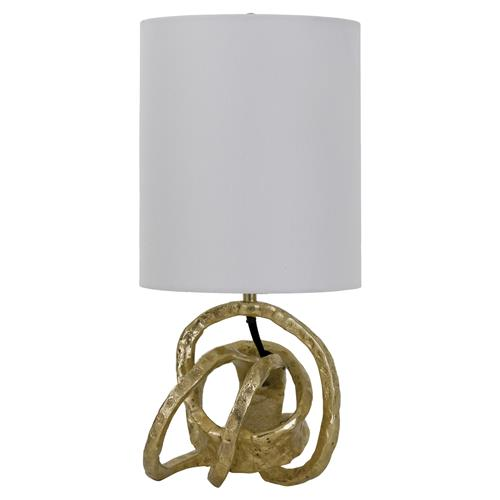 Regina Andrew Mini Classic Rustic Gold Knot Mini Lamp | Kathy Kuo Home
