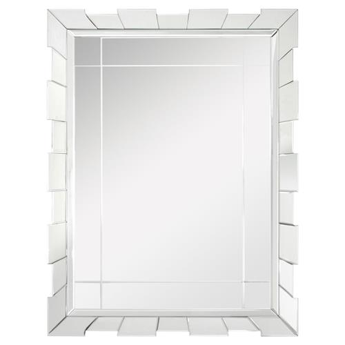 Andrews Hollywood Regency Deco Beveled Pieced Wall Mirror | Kathy Kuo Home