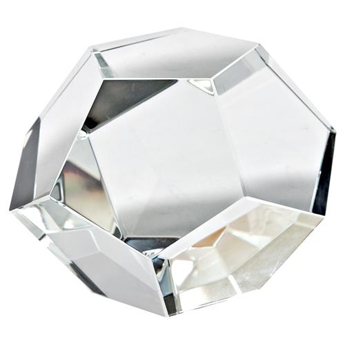 Regina Andrew Modern Classic Cut Clear Crystal Sculpture - S | Kathy Kuo Home