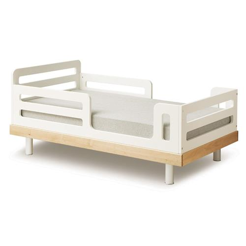 Oeuf Classic Modern Toddler Bed - Birch | Kathy Kuo Home
