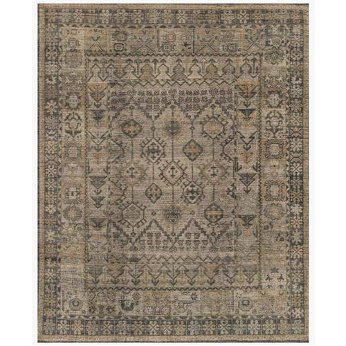 Ismael Global Bazaar Grey Vintage Tribal Wool Rug - 13'x18' | Kathy Kuo Home