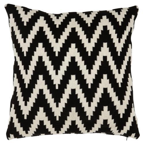 eichholtz global black white chevron decorative pillows