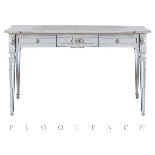 Eloquence® Herra Writing Small Desk | Kathy Kuo Home