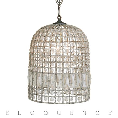 Eloquence Medium Birdcage Chandelier | Kathy Kuo Home