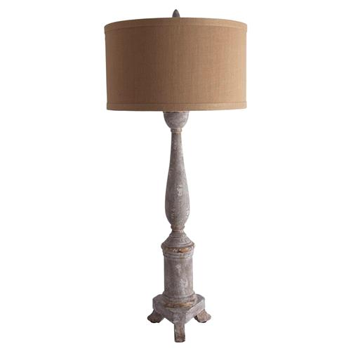Bastian French Country Candlestick Table Lamp | Kathy Kuo Home