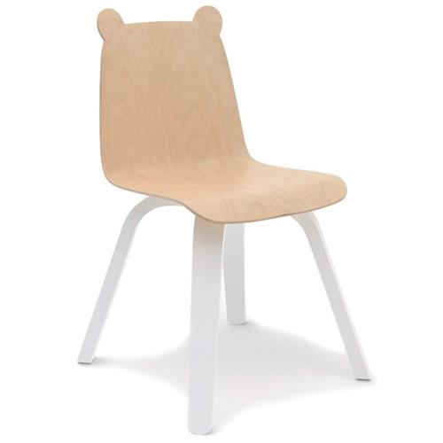 Bear Play Chairs by Oeuf - Birch - Set of 2 | Kathy Kuo Home