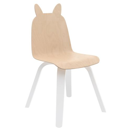 Rabbit Play Chairs by Oeuf - Birch - Set of 2 | Kathy Kuo Home
