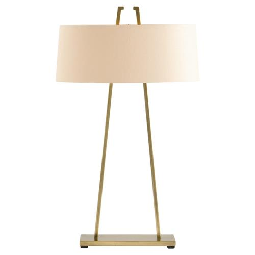 Arteriors Dalton Minimal Antique Brass Table Lamp | Kathy Kuo Home